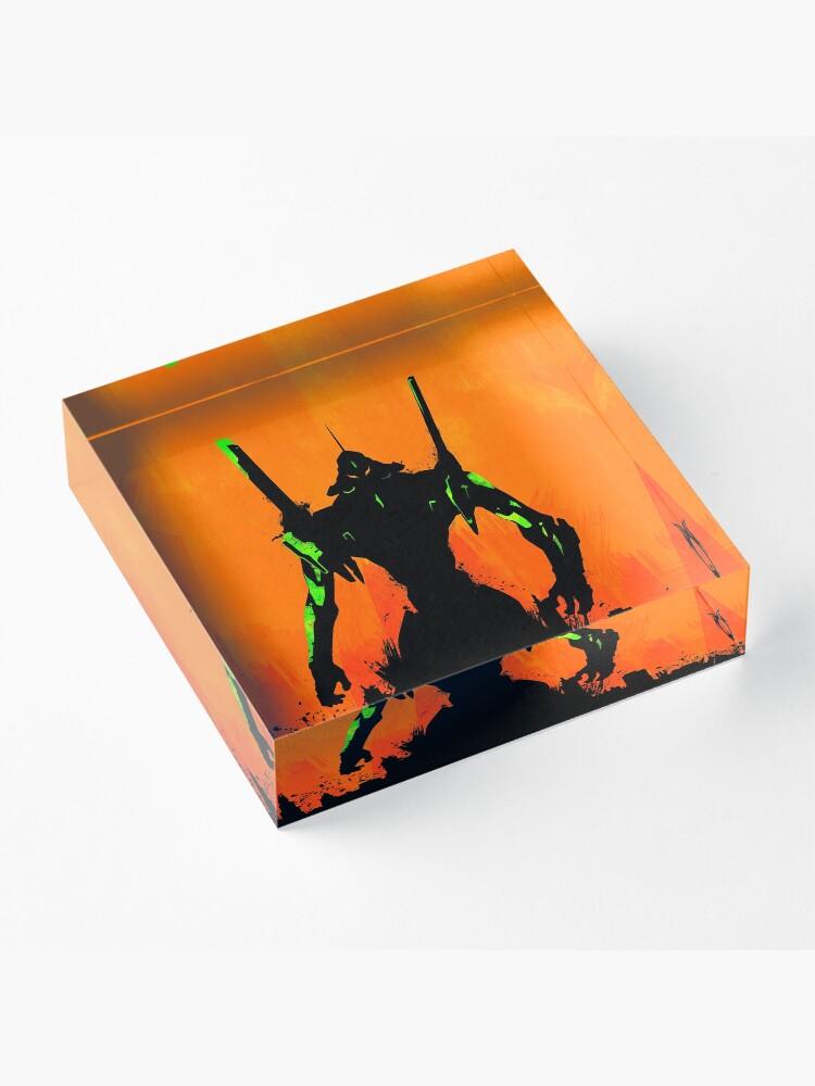 Alternate view of Evangelion Acrylic Block