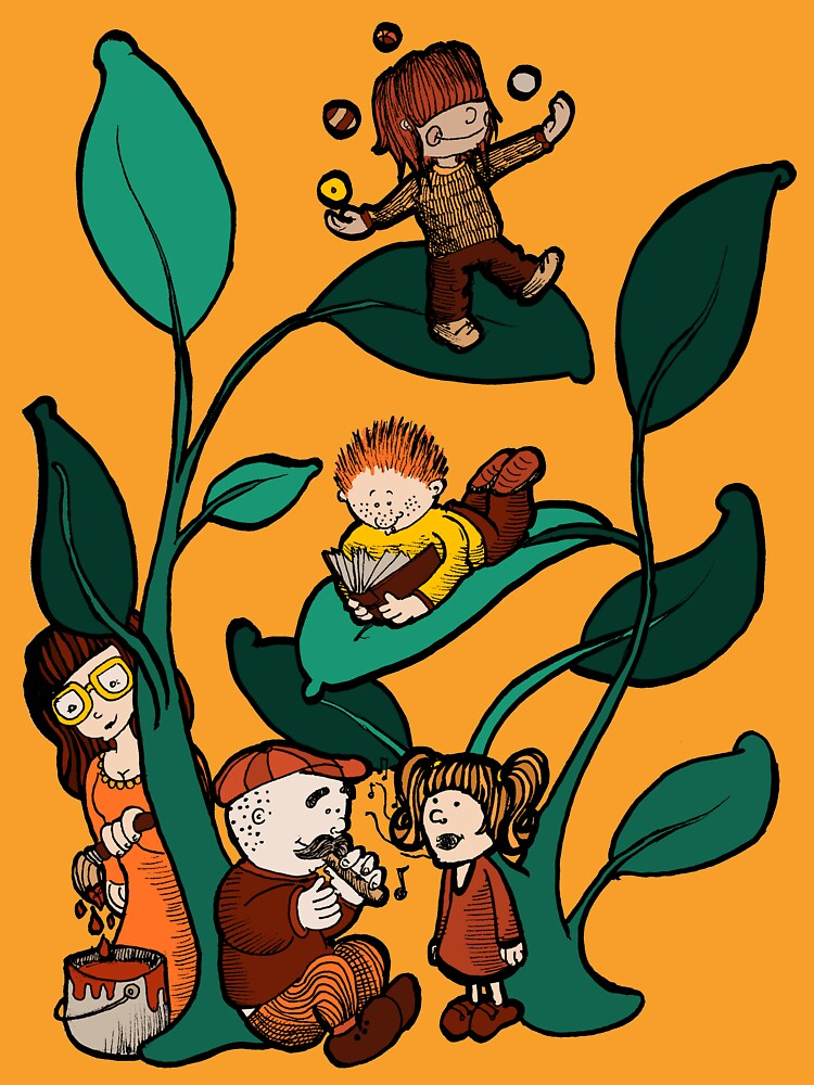 Funny  Beanstalk 1 by LucyNuzit