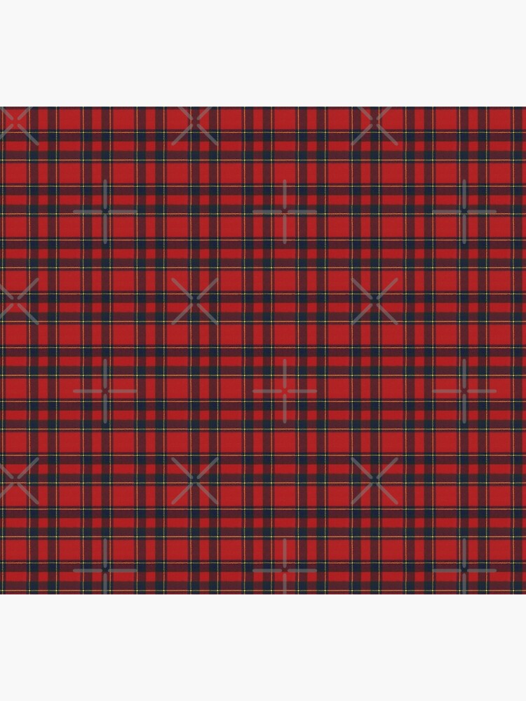 Invernness Modern Scottish Tartan by DiamondWillow