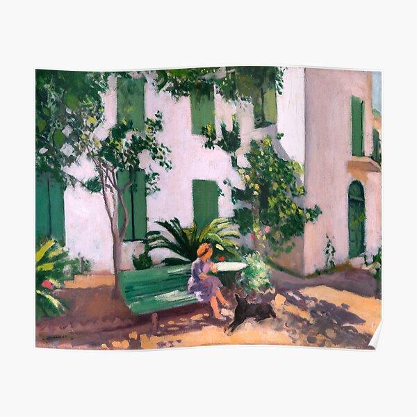 Albert Marquet - Le Repos devant la Maison - Rest in front of the House Poster