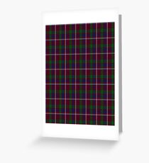 00330 Lanark Tartan Greeting Card