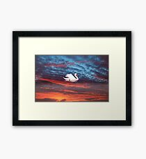 kerry red Framed Print