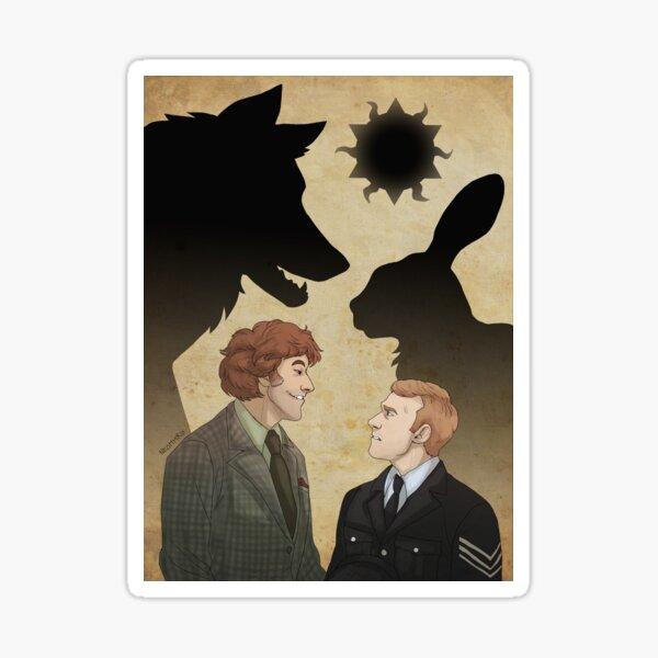 The Wicker Man - Howie and Lord Summerisle Sticker
