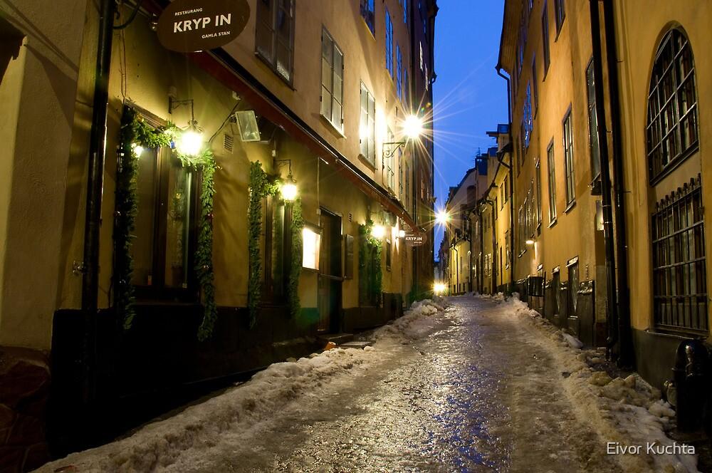 Old Town by Eivor Kuchta