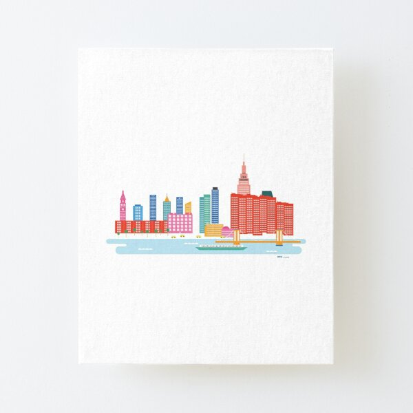 NYC Canvas Mounted Print