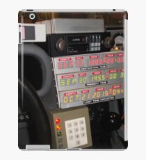Back To The Future Time Display iPad Case/Skin