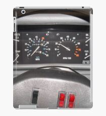 Delorean Wheel iPad Case/Skin