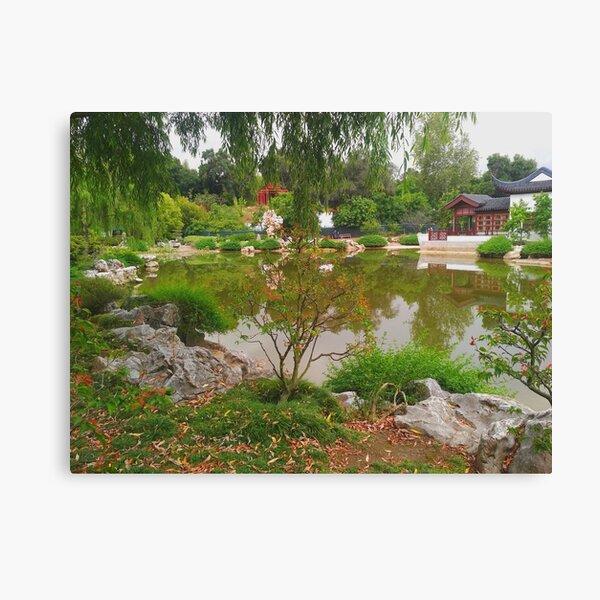Chinese garden Canvas Print