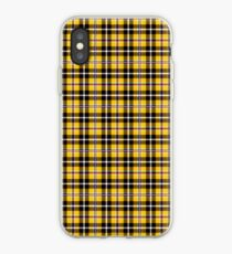 Vinilo o funda para iPhone Plaid amarillo icónico de Cher