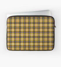 Chers Iconic Yellow Plaid Laptoptasche