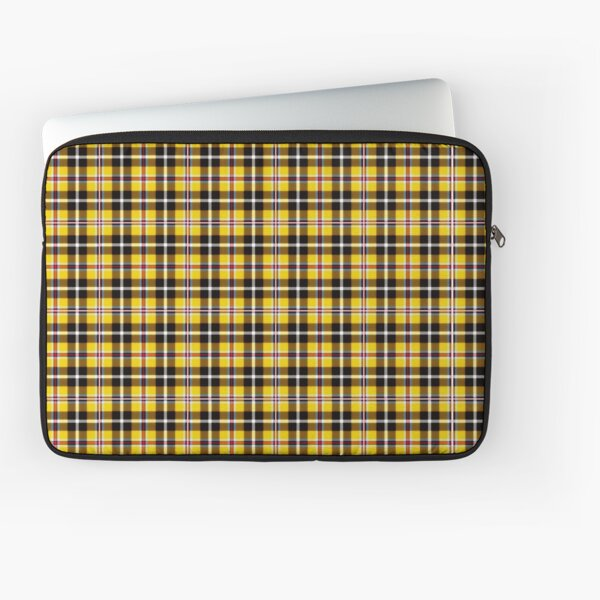 Cher's Iconic Yellow Plaid Laptop Sleeve