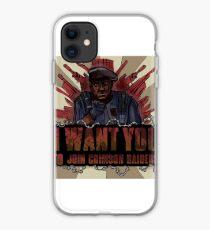 Join the Crimson Raiders iPhone Case