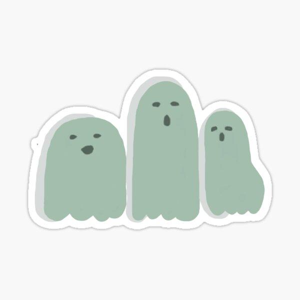 Cute Ghost Choir  Sticker