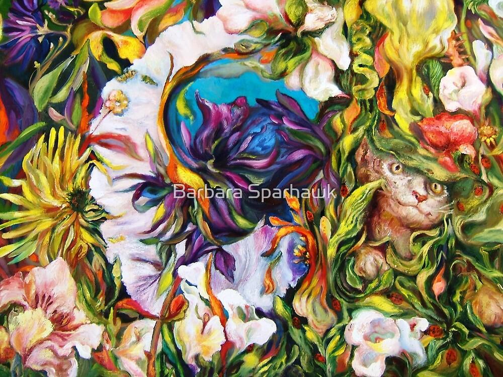 Through The Garden by Barbara Sparhawk