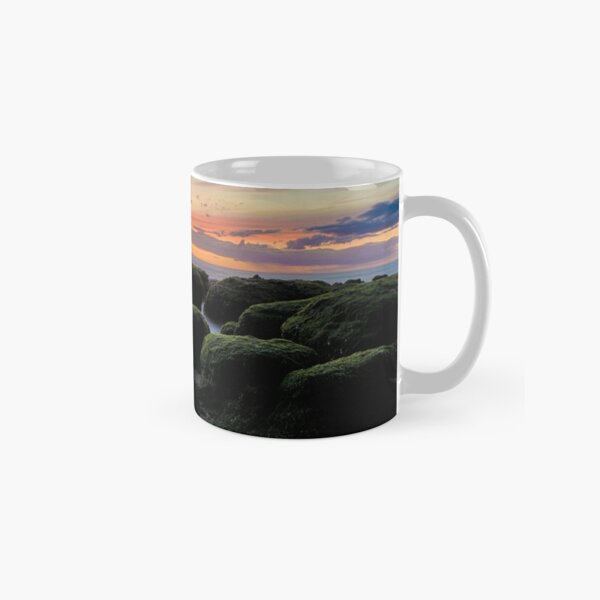 The Boulders of Hunstanton Beach Classic Mug
