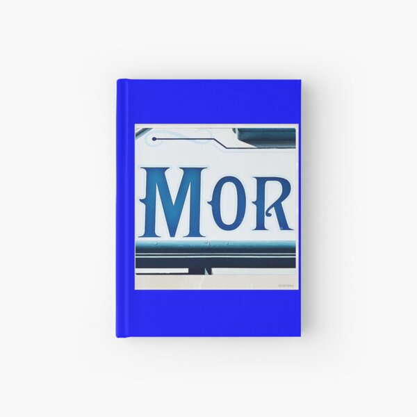Mor (Hebrew name) Hardcover Journal