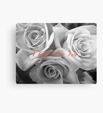 A gift for you Canvas Print