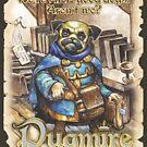 Pugmire: Princess Yosha Pug by TheOnyxPath