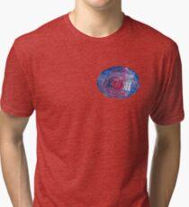 TARDIS in space 02 Tri-blend T-Shirt