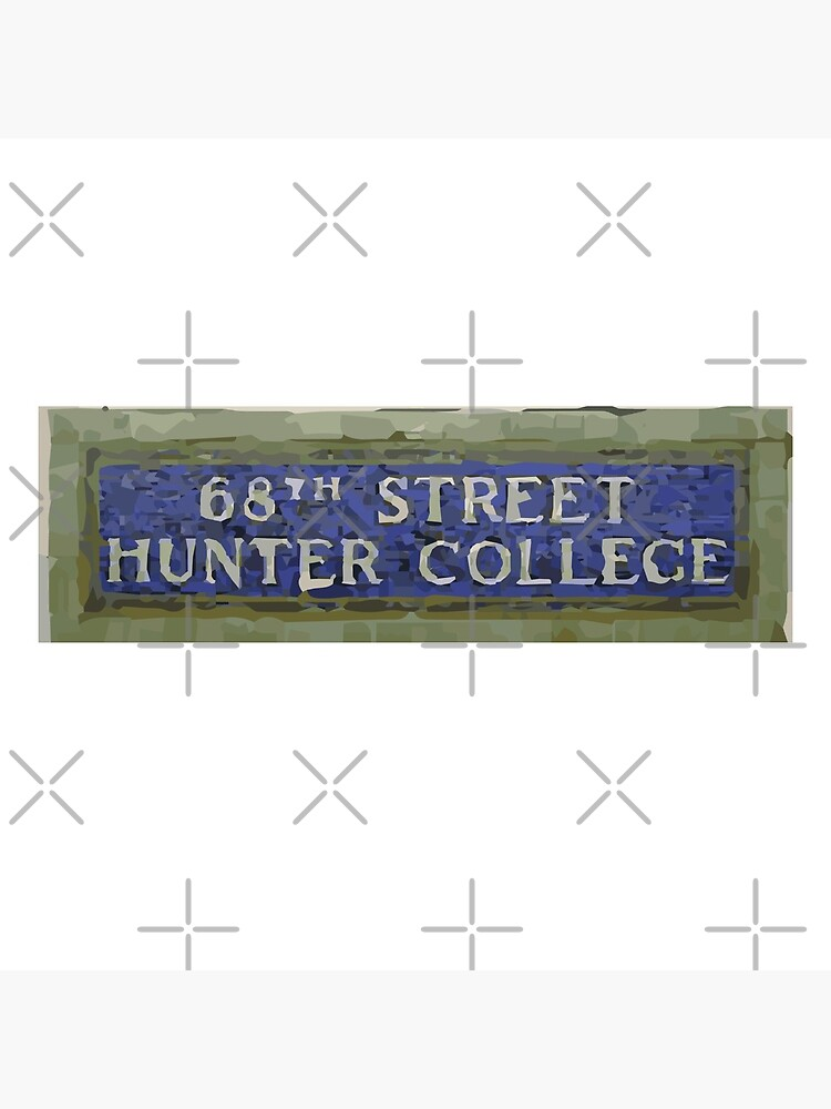 68th St Subway Sign by savagedesigns