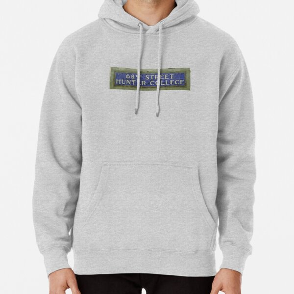 68th St Subway Sign Pullover Hoodie