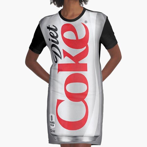 Coca dietética Vestido camiseta