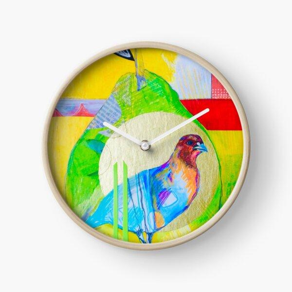 Partridge in a Pear Clock