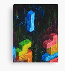Tetris Tribute Canvas Print