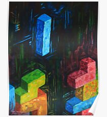 Tetris Tribute Poster