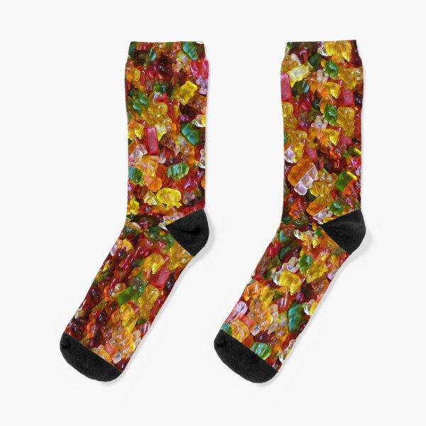 Gummy Bears Pattern Socks
