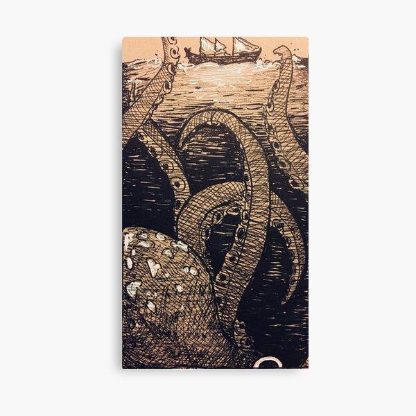 The Deep Beckons  Canvas Print