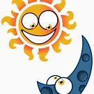Sun & Moon by fastpaolo