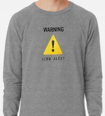 Warnung - Nerd-Alarm Leichter Pullover
