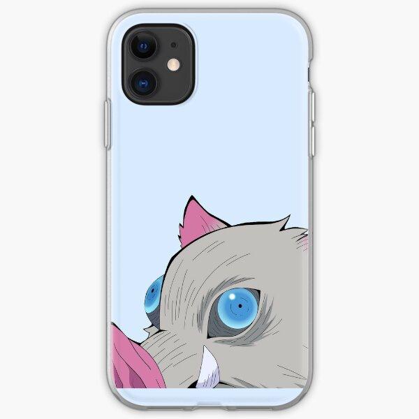 Inosuke Hashibira Peeker | Demon Slayer iPhone Soft Case
