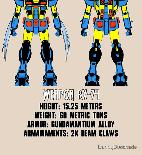 Weapon rX-74 by DannyDuoshade