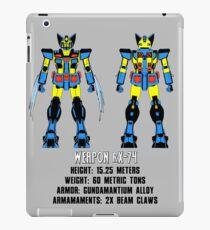 Weapon rX-74 iPad Case/Skin