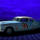 "1952 Hudson Hornet-Tribute ""Race Car"" by TeeMack"