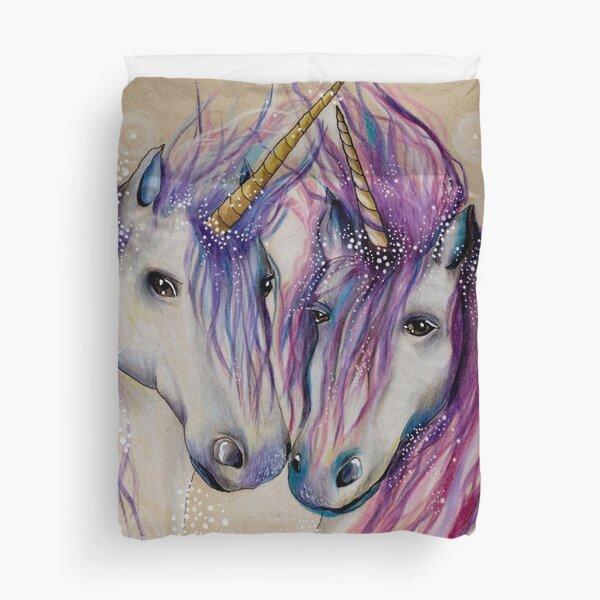 Unicorn Love Duvet Cover