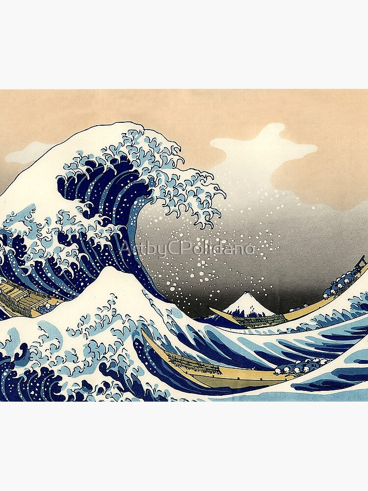 THE BIG WAVE  by ArtbyCPolidano