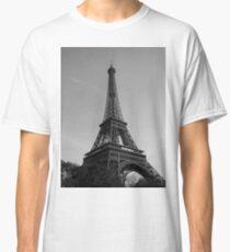 Eiffel Tower Black & White (Paris) Classic T-Shirt