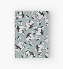 fat cap flow style Hardcover Journal
