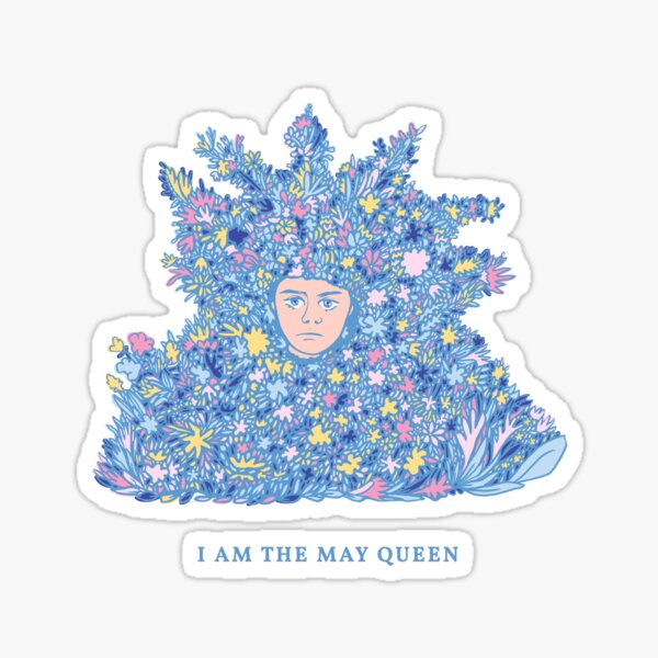 Midsommar - I Am the May Queen - Fan Art of the 2019 Horror Movie  Sticker