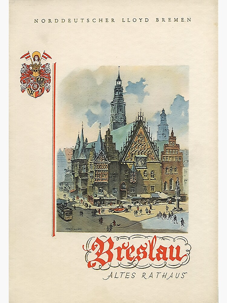 Breslau, Germany: Old City Hall by edsimoneit