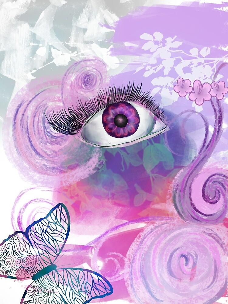 find the purple inner eye by edelarts