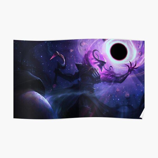Dark Star Thresh Splash Art - League of Legends Poster