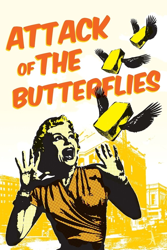 Attack of the Butterflies by alefaria