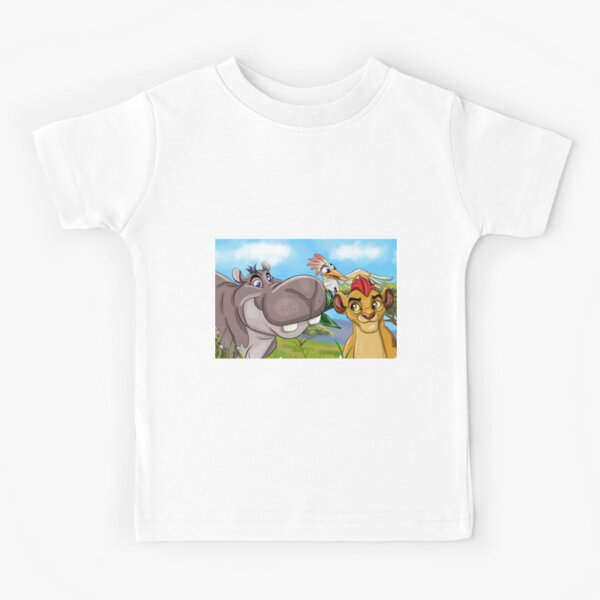 Lion Cartoon Guard Kids T-Shirt