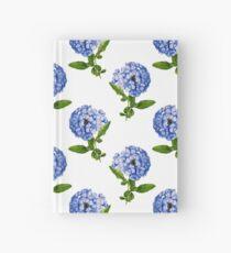 Blaue Kap-Plumbago-Blume Notizbuch