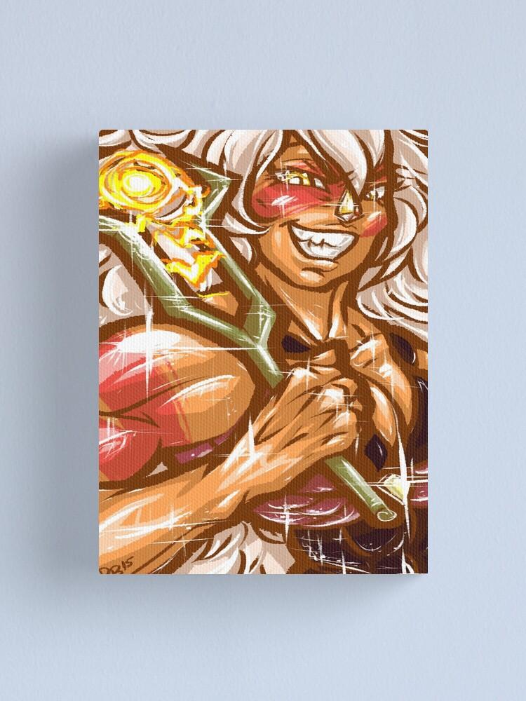 Alternate view of Painted Jasper Canvas Print