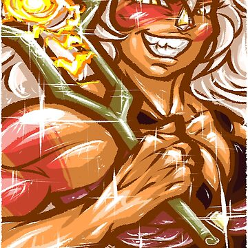 Painted Jasper by Poofette